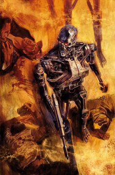 ✭ Terminator 2029 by Massimo Carnevale