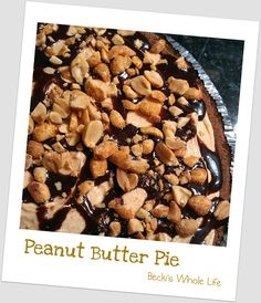 Peanut Butter Pie | Becki's Whole Life