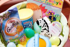 Easter basket ideas for one year olds basket ideas easter baskets easter basket ideas for a one year old negle Choice Image