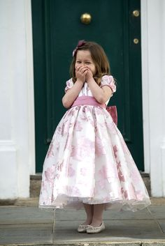 c12c3dffcc3 Bridesmaid and Flower Girl Dresses · Isadora in Strawberry... Page Boy