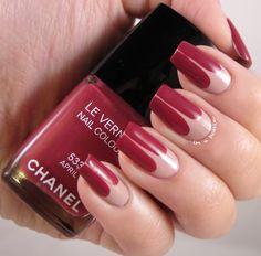 beautiful colour! #chanel #nailart