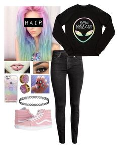"""""""Untitled #946"""" by sorry-im-emmy ❤ liked on Polyvore featuring Vans, H&M and Casetify"""