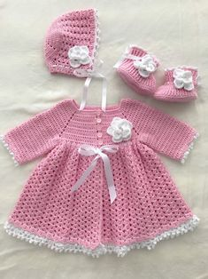 Excited to share this item from my shop: Handmade Baby Set, Coming Home Outfit, Baby Shower Gift Source by sets clothes Crochet Baby Dress Pattern, Baby Dress Patterns, Baby Girl Crochet, Crochet Baby Clothes, Newborn Crochet, Baby Set, Baby Baby, Baby Pullover, Soft Baby Blankets