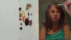 Pintar con veladuras 4. Retrato. Técnica grandes maestros. Curso de pint...