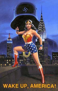 Wonder Woman by Greg Hildebrandt Earth Two, Wonder Woman Comic, Warrior Spirit, Prince, Female Hero, Lynda Carter, Woman Standing, Vintage Comics, Pulp Fiction