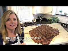 Char Grilled Tuscan Steak (lean and green recipe) - Stacey Hawkins