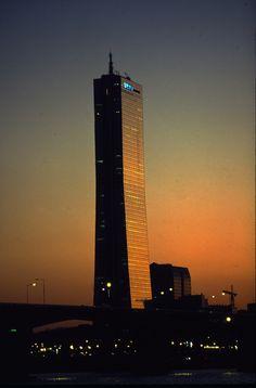 63빌딩의 석양