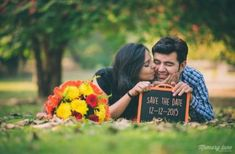Pre wedding photoshoot poses ideas for every couple who is getting married soon Pre Wedding Shoot Ideas, Pre Wedding Poses, Wedding Picture Poses, Pre Wedding Photoshoot, Wedding Pictures, Save The Date Pictures, Couple Pictures, Indian Wedding Couple Photography, Foto Casual