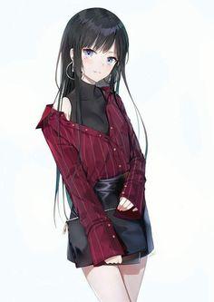 """cute-girls-from-vns-anime-manga: """" カチューシャ様 by 朱シオ """" Kawaii Anime Girl, Anime Girls, Manga Kawaii, Cool Anime Girl, Pretty Anime Girl, Chica Anime Manga, Beautiful Anime Girl, Anime Art Girl, Anime Oc"""