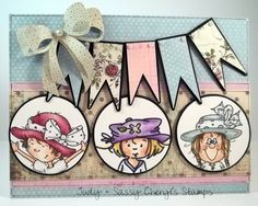"""Sassy Cheryl's """"Hats On"""" Challenge by jaydekay - Cards and Paper Crafts at Splitcoaststampers"""
