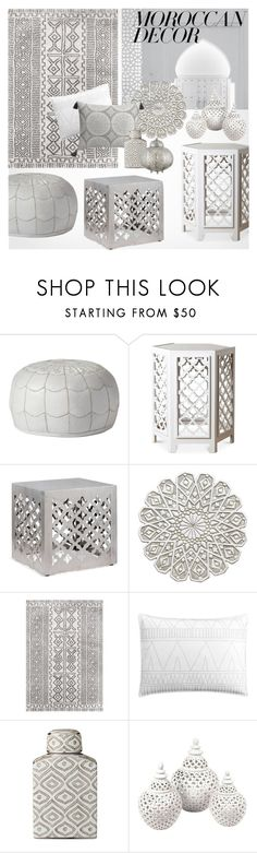 """Moroccan Patterns"" by snowbell ❤ liked on Polyvore featuring interior, interiors, interior design, home, home decor, interior decorating, Serena & Lily, Zuo, cupcakes and cashmere and Lene Bjerre"