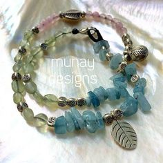 #Repost @munaydesigns  Another beautiful wrap bracelet waiting for its beauty... Tourmaline Aquamarine Rose Quartz & Thai Hill Tribe Silver. #wrapbracelet #simplicity #surfwear #aqua #jewels #ocean #seagypsy #gypsy #bohemian #munaydesigns #mermaid #tourmaline #aquamarine #rosequartz #lovestone #handmade