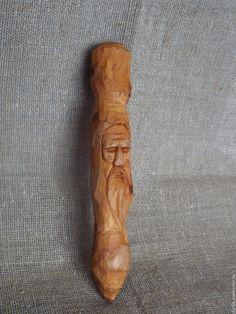Купить Явара - рыжий, резьба по дереву, явара, оружие, подарок, сувениры ручной работы, старинный