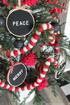 Letterboard ornaments