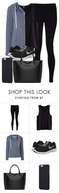 """""""Style #11412"""" by vany-alvarado ❤ liked on Polyvore featuring Sweaty Betty, Topshop, NIKE and Givenchy"""