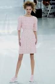 Znalezione obrazy dla zapytania chanel pink dress