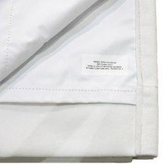 "Unlined Medallion Curtain Panel Cream (Ivory) Black (50""x108"") - Skyline Furniture"
