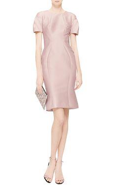 Cotton and Silk-Faille Dress by Zac Posen - Moda Operandi