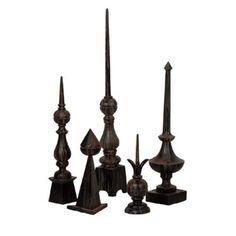 Old World Finials - not vintage. not cheap either.