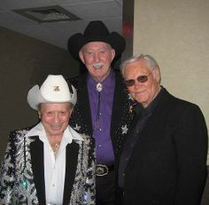 Little Jimmy, Jack & George backstage at The Opry.