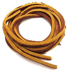 "Geniune Leather Shoelaces 1/8"" Square Solid Colors - Tan ... https://www.amazon.com/dp/B0141KDWP4/ref=cm_sw_r_pi_dp_x_flLlybVF52SEM"