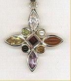 Navaratna Gemstone Necklace