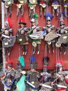 Sicilian Puppets