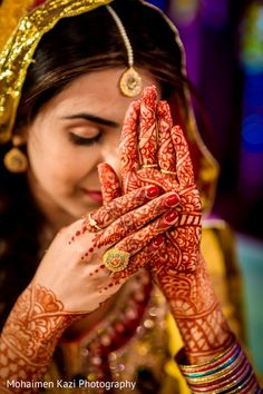 Check out Indian wedding reception couple images and other photos and videos in our gallery. Indian Wedding Photos, Mehndi Photo, Couples Images, Bridal Henna, Wedding Gallery, Henna Designs, Body Art, Photo Galleries, Wedding Photography