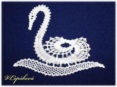 Návrh a realizace - V. Cepáková Bobbin Lace Patterns, Lace Heart, Lace Jewelry, Lace Detail, Lab, My Design, Crochet Earrings, Projects To Try, Butterfly