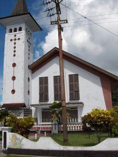 Church in kampong Ulath | Maluku Islands