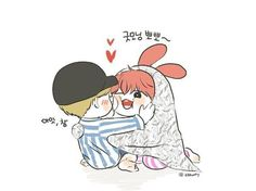 Jikook/kookmin fanart~ - - Page 2 - Wattpad Bts Chibi, Anime Chibi, Vmin, Wattpad, Bts Fanfiction, Cartoon Fan, Cutest Couple Ever, Bts Drawings, Bts Fans