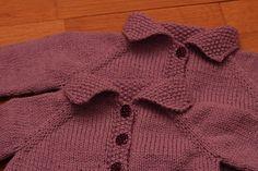 Gilet Flora #pattern #cardigan #free #knitting
