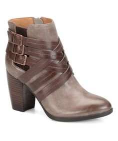 Look at this Söfft by Softspots Gray Arminda Ankle Boot on #zulily today!