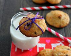 Q.b.- Quanto Basta: Biscotti alla ricotta, banane e cocco con gocce di cioccolato
