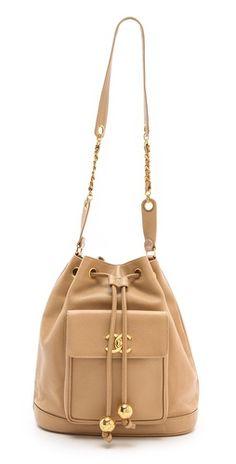 Chanel bucket bag..