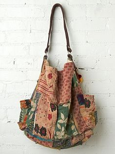 Vintage Kanta Bag ~ Inspiration ~ love these vintage fabrics