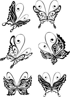 Butterfly Tattoo Design Ideas by annak