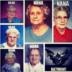 Nananananana BATMAN! Haha ツ