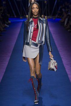 Versace | Milan Fashion Week | Spring 2017 Model: Jourdan Dunn