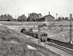 """Port Huron, Michigan, circa 1905. """"St. Clair Tunnel."""""""