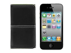 Leather iPhone Case + Credit Card Holder - Save 75% Just $9.99  Chic and attractive!