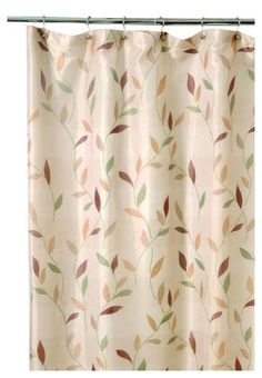 Famous Home Fashions Shadow Leaf Shower Curtain | Free Shipping