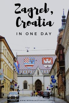 Just one day in Zagreb? Read on to see my itinerary for 24 hours in the (rainy) Croatian capital including must-see attractions and the best vegan food! Travel in Europe.