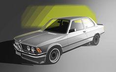 BMW classics on Behance