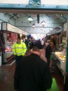 Butter Market Hall in Leek, Staffordshire & Moorlands, UK 2013