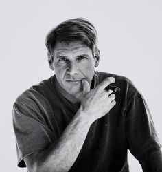 Harrison Ford .... Ruggedly handsome, one of my favorite actors...my older man hottie!