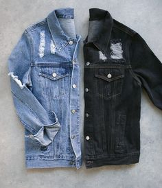 Denim, Denim, Denim #Jeans #Denim #Shop #Trend #Trendy #OOTD #Style #Stylish #Chic #JeanJacket