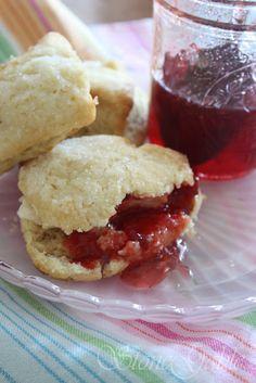 sour cream scones...great with jam!