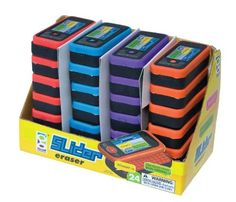 Raymond Geddes Slider Phone Eraser, 24 per Display, Assorted Colors (68125) Raymond Geddes http://www.amazon.com/dp/B004FM76M4/ref=cm_sw_r_pi_dp_IONhub186FF42