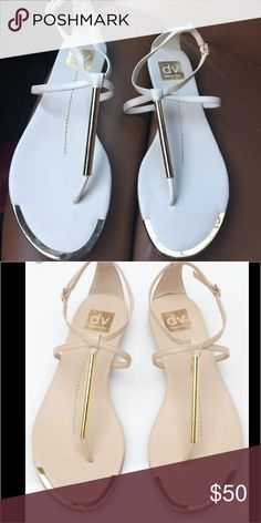 BRAND NEW 👌🏽Brand new dolce vita sandals Brand-new never been worn- white. In excellent condition and just gorgeous size 8 Dolce Vita Shoes Sandals